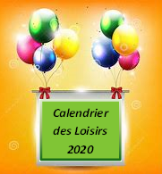 calendrier 2020 image